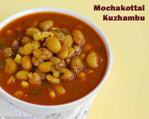 Mochakottai-kuzhambu
