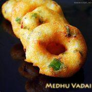 Medhu vadai, Ulundu vadai recipe – With video