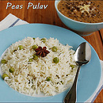 Peas pulao recipe
