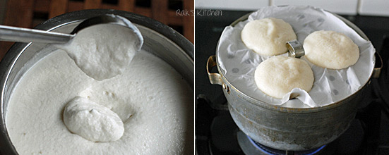 How to make soft idli step 6