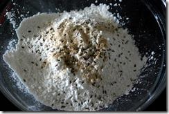 how to make potato murukku Dry ingredients