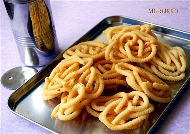 Potato Murukku Recipe