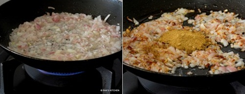 step 4 fry onion