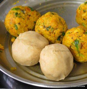 how to make mooli paratha step 7