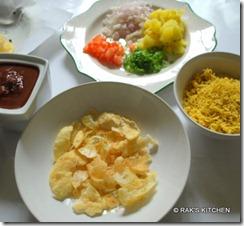 Ingredients Sev poori