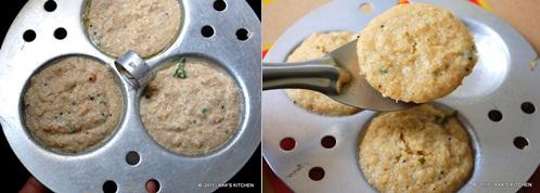 How to make oats idli 4