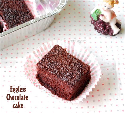 Sensational Eggless Chocolate Cake Recipe Moist Soft Raks Kitchen Funny Birthday Cards Online Elaedamsfinfo