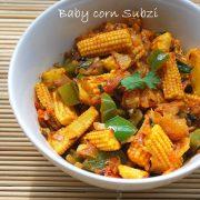 baby corn sabji