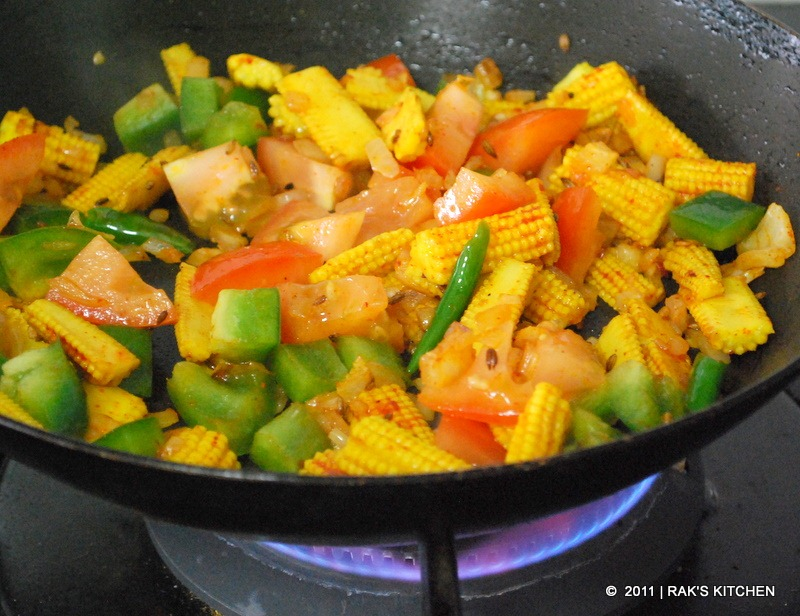 step4 stir fry