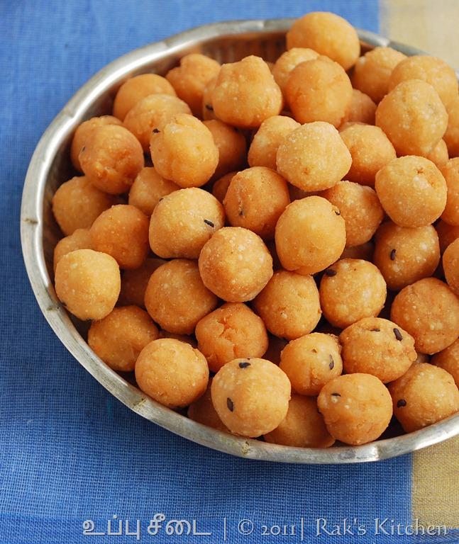gokulashtami recipes - uppu-seedai