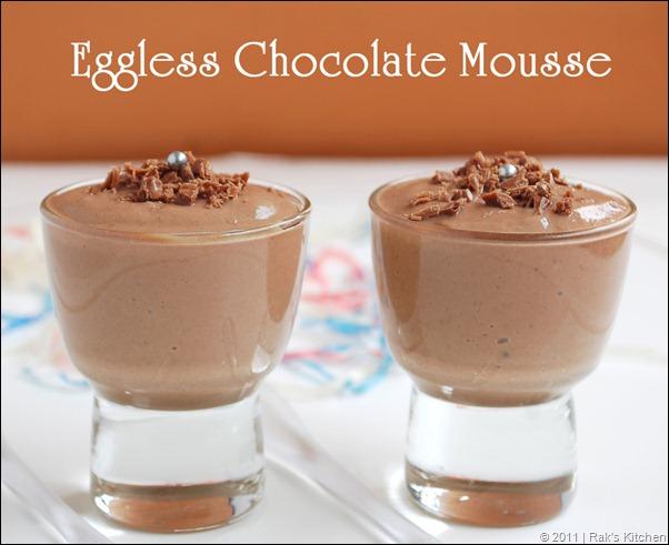 Easy Chocolate Mousse Recipe No Eggs