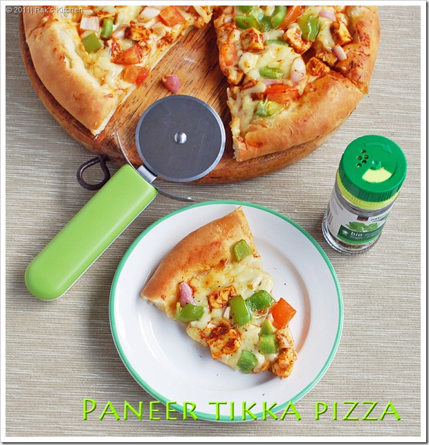 Homemade-pizza-indian-paneer-recipes
