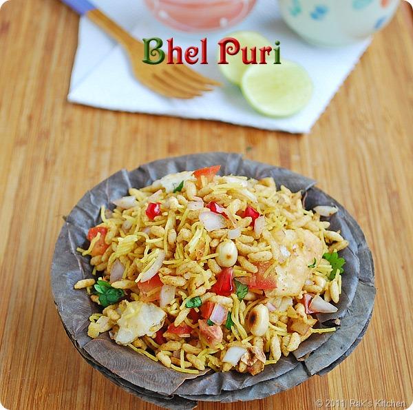 Bhel puri recipe, Papdi recipe - Raks Kitchen