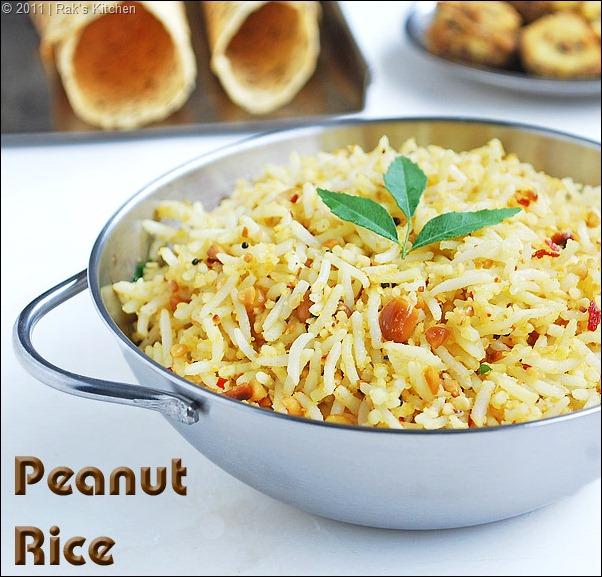 peanut rice, verkadalai sadam