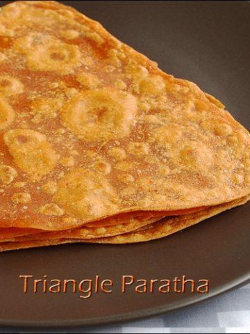 triangle-paratha-recipe