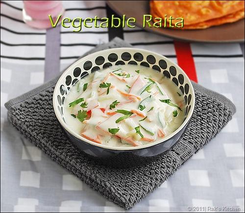 vegetable-raita