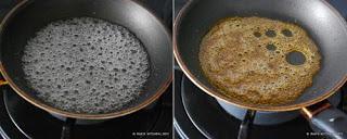 caramel making