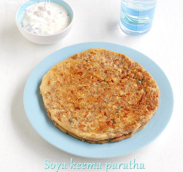 soya-keema-paratha