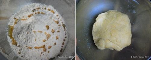 How to make lachha paratha step 1