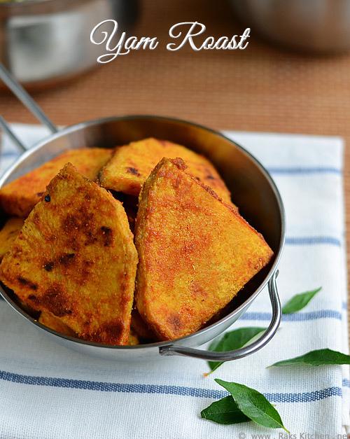 Yam tawa fry/ senai roast