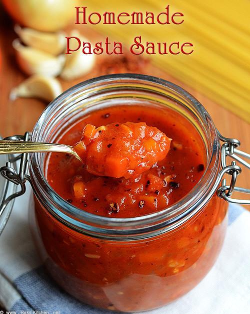 Homemade-pasta sauce