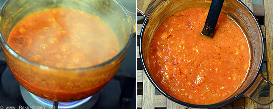 how to make pasta sauce step 6