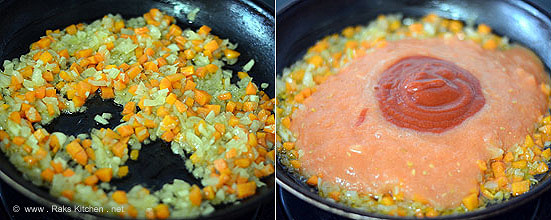 how to make pasta sauce step 4