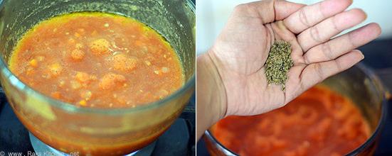 how to make pasta sauce step 5