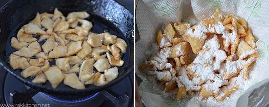maida biscuit snack step 5
