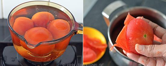 thakkali kuzhambu preparation 1