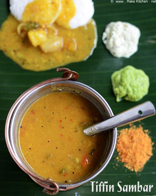idli sambar - tiffin sambar