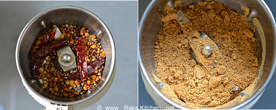 powdered sambar masala
