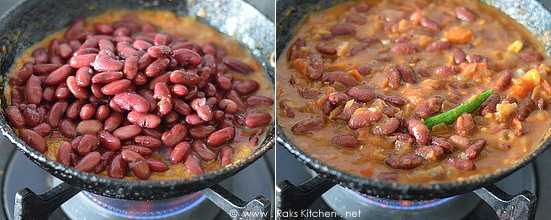 rajma masala method 5