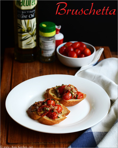 buschetta-with-tomatoes