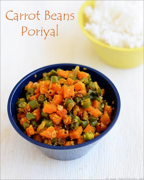 carrot-beans-poriyal-recipe