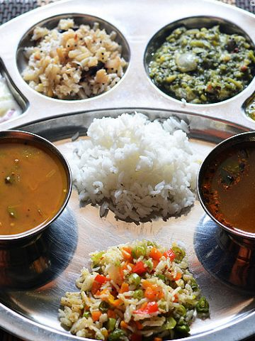 everyday south Indian food