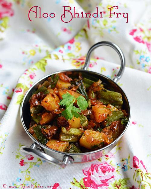 aloo-bhindi-fry-recipe