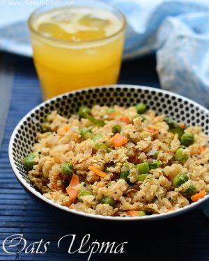how-to-make-oats-upma