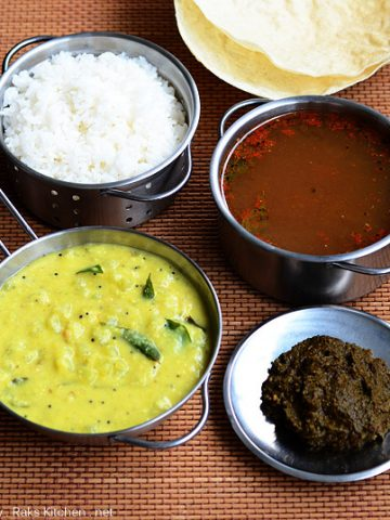 easy south indian meals