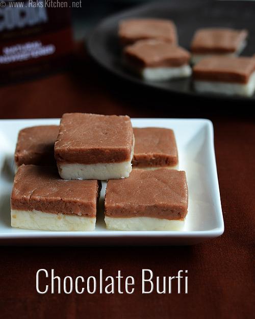 Chocolate-burfi