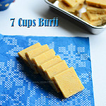 7 cups burfi