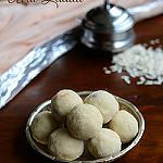 Aval laddu recipe