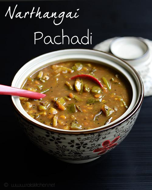 narthangai-pachadi