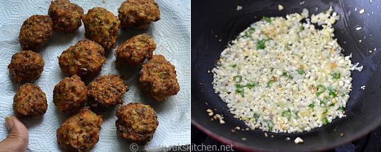 How to make veg manchurian gravy step 3