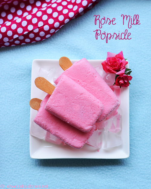 rose milk popsicle