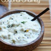 white coconut chutney