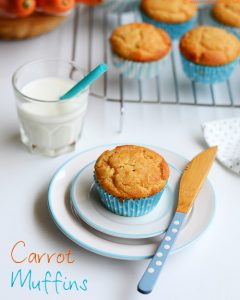 carrot muffins eggless