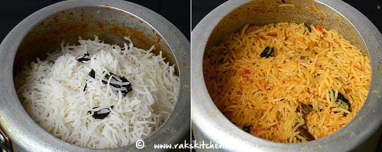 how to make soya chunks biryani step 11