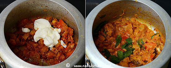 how to make soya chunks biryani step 9