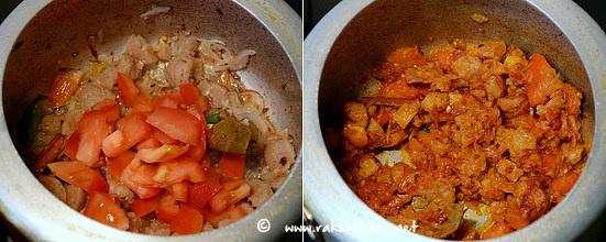 how to make soya chunks biryani step 8